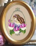 10-1773 Fuchsia Fae 67w X 100h Passione Ricamo