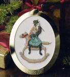 P. Buckley Moss (Moss Collection) 01-2724 2001 Limited Edition Christmas Ornament