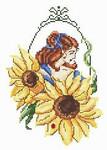 10-1971 Sunflower Fae by Passione Ricamo 80 x 114 Passione Ricamo