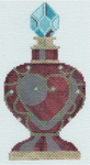 Ll150U Heart Perfume Bottle 3 x 5.75 18 Mesh Labors Of Love