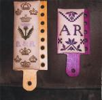 12-2216 Quaker Hornbooks by R & R Reproductions 30w x 50h)(30w x 90h