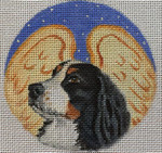 "CHD13 Bernese Angel 4"" Round Nenah Stone Designs 18 Mesh"