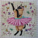 SC236 Dancing Ballerina 10x10 Nenah Stone Designs 18 Mesh