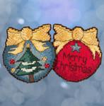 ST181713 Merry Christmas Tree Mill Hill Kit