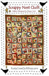 Rusty Crow Patterns Scrappy Nest Quilt 60 x 75