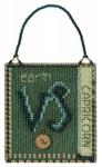 MH161824 Mill Hill Charmed Ornament Kit Capricorn (2018)