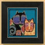 LB305106 Mill Hill Laurel Burch Feline Friends - Cats Collection (Linen)
