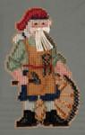 MH203302 Mill Hill Santa Ornament Kit Jamestown Santa (2013)