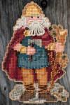 MH205302 Mill Hill Santa Ornament Kit Wales Santa (2015)