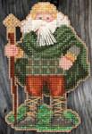 MH205303 Mill Hill Santa Ornament Kit Ireland Santa (2015)