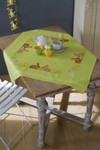 PNV150409 Vervaco Easter Bunnies - Table Cloth