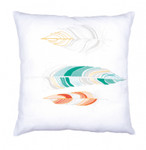 PNV162182 Vervaco, Feathers Embroidery Cushion