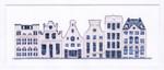 GOK552A Thea Gouverneur Kit Delft Blue Houses