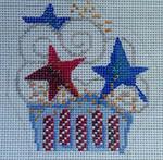 1001-07 Month Cupcakes Mesh Beth Gantz Designs