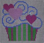 1001-02 Month Cupcakes Mesh Beth Gantz Designs
