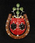 LUCKY LADYBUG  Charles Harper Needle Minder Big Buddy The Meredith Collection ( Formerly Elizabeth Turner Collection)