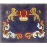EA123 Lions with Crown Alice Peterson 13 X 10.5, 13M