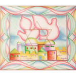 EA126 Dove Over Jerusalem Alice Peterson 13 x 11.5, 13M