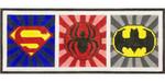 AP3731 Superhero Emblems Alice Peterson 15.5 x 6, 13M