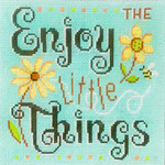 AP2958 Enjoy the Little Things Alice Peterson 7 X 7, 13M