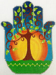 AP2943. Tree of Life Hamsa Hamsa Alice Peterson 5.75 x 7.5, 13M