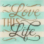 AP2935 Love This Life Alice Peterson 7 x 7, 13m