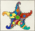 AP2932 Patterned Starfish Alice Peterson 8.5 x 7.5, 13m