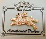 Running Rabbit Monster MAGNET  Accoutrement Designs 2018
