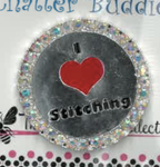 I Love Stitching Chatter Buddy Needle Minder The Meredith Collection ( Formerly Elizabeth Turner Collection)