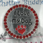 I Love My Dog Chatter Buddy Needle Minder The Meredith Collection ( Formerly Elizabeth Turner Collection)