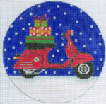 """XO-173i Vespa Holiday 5"""" Round 13 Mesh The Meredith Collection"""