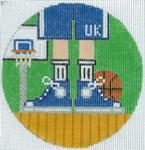 "XO-174u Basketball Feet University Of Kentucky 5"" Round 13 Mesh The Meredith Collection"