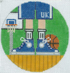 "XO-174u Basketball Feet Texas Tech 5"" Round 13 Mesh The Meredith Collection"