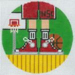 "XO-174u Basketball Feet NCS 5"" Round 13 Mesh The Meredith Collection"
