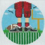 "XO-174t Football Feet Texas Tech 5"" Round 13 Mesh The Meredith Collection"