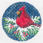 Cardinal 4 dia.  18 Mesh Once In A Blue Moon By Sandra Gilmore 18-978