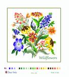 PLG2150 Texas Wildflowers Deux Amis 13 Mesh 16 x 16