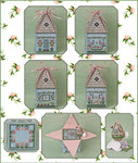 JN301LE Cloverly's Bunny Bungalow & Embellishments • Limited Edition 2018 Just Nan Designs