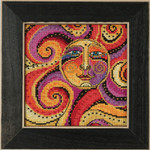 LB141812 Mill Hill Laurel Burch Celestial Sun -  Celestial Collection