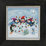 MH141832 Mill Hill Buttons and Bead Kit Playful Penguins (2018)