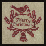 10-1386 Merry Christmas 77 X 76 by All Through The Night