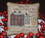 17-1823 Comfort And Joy Size: 90w x 84h by Abby Rose Designs