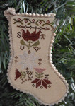 17-2231 Sampler Stocking Ornament 3 by Abby Rose Designs