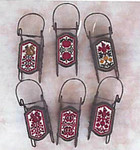 Apples & Berries Sleds by Foxwood Crossings Sleds Sold Separately 17-2329