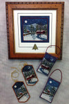 Harrisburg Winter Ornaments 29 x 51 Picture 51 x 56  Foxwood Crossings Sleds Sold Separately 15-2297YT