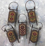Pomegranate Sleds by Foxwood Crossings Sleds Sold Separately 17-2331