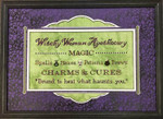 Witchy Woman Apothecary by Foxwood Crossings 17-2171