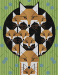 Charley Harper Foxsimilies CH-F115 18 Mesh 12 1⁄2 x 16 Treglown Designs