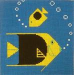 CH-R058 Treglown Designs Charles Harper Rock Beauty Fish