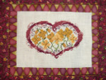 AUTUMN POSIES (CS) Country Garden Stitchery